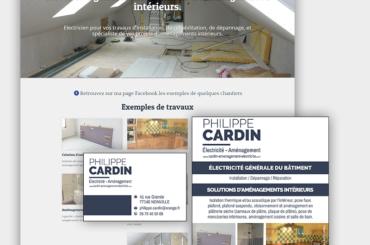 Site et identité visuelle pour un artisan