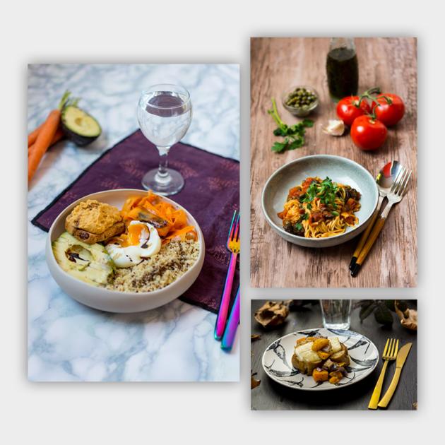 Recettes et photographies culinaires pour Foodle (SEB)
