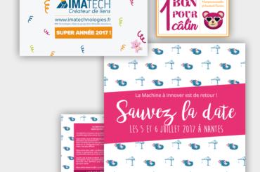 Identité visuelle pour Imatech / La Machine à Innover